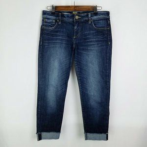 Kut from the Kloth Angie Cropped Boyfriend Jeans
